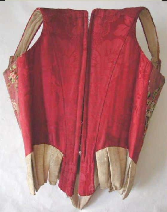 French Corset (Back) c. 1750 - 1760 (Joconde Musées de France)