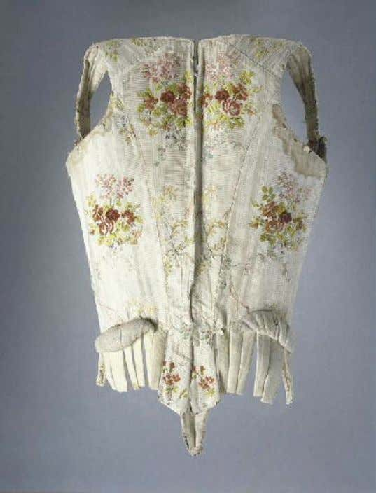 French Corset (Back) c. 1750 - 1775 (Joconde Musées de France)
