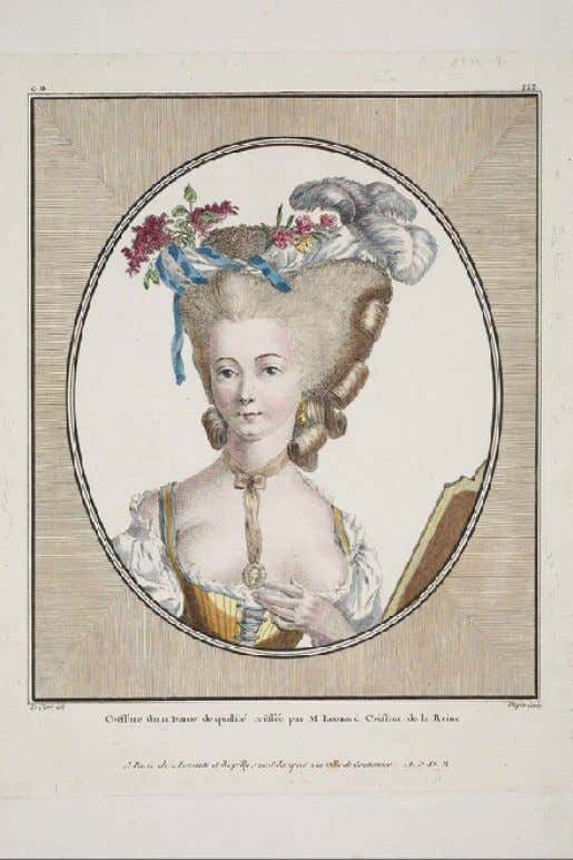 """Coë ff ure d'une Dame by Pierre-Thomas LeClerc "" 1781 (Museum of Fine Arts, Boston)"
