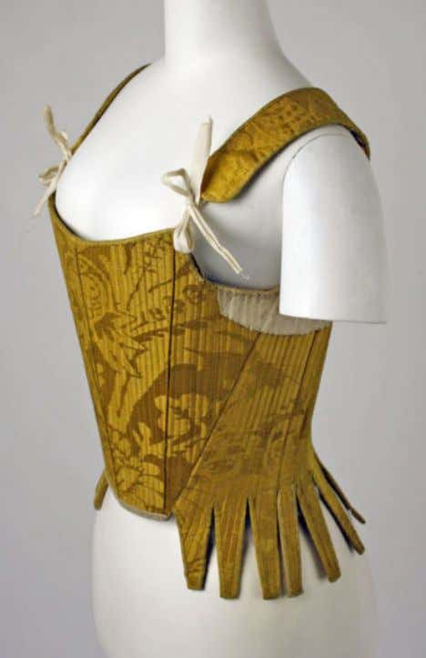 Spanish Corset or Cotilla Early 18th Century (Les Arts Décoratifs)