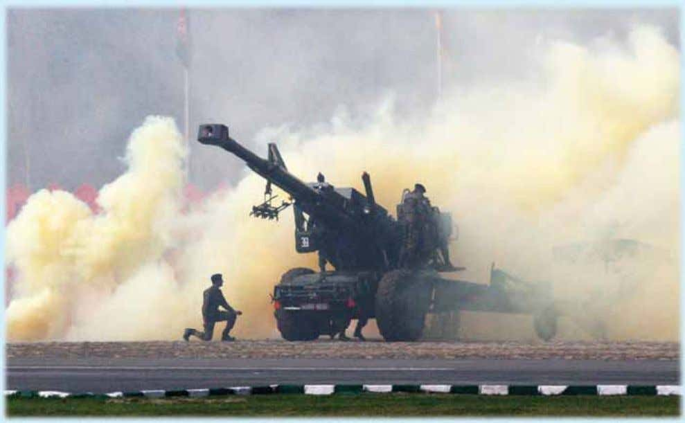 3 INDIAN ARMY Combat Demonstration during Army Day Parade