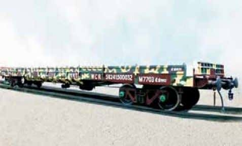 New Generation Bogie Open Military Wagon RASHTRIYA RIFLES 3.36 Rashtriya Ri fl es since its