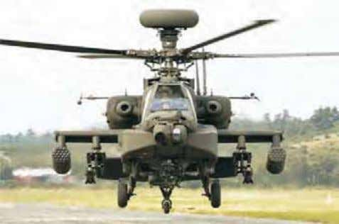 terrain on our Northern borders, not available hitherto. 41 Apache Attack Helicopter 5.11 Heavy Lift Helicopters