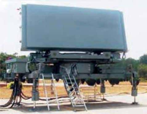 Israel have replaced legacy radars of 80s' technology. Medium Power Radar (b) LLTR: To fi ll