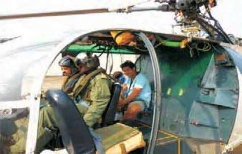 ICG helo 806 was launched from 800 Sqn (CG) Goa. The crew Medical Evacuation from LNG