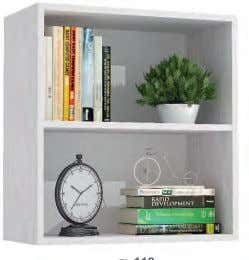 with doors or hanging bookcase. ROVERE NATURALE BIANCO BIANCO ROVERE NATURALE BIANCO ROVERE NATURALE BIANCO BIANCO
