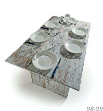 a real table with an ample plan (120x70 cms): it is enough to open the legs