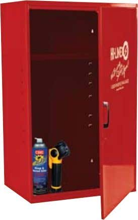Note: Parts not included. #LUC3 Lockable Utility Cabinet To Order, Call: 1-800-944-5463 • www.hi-line.com •