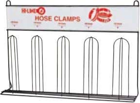 #ACC6 Chemical Caddy #ACR6 Chemical Rack (Wall mounted) #HCR5 Hose Clamp Rack (#40-#72) Other Cabinetry Available