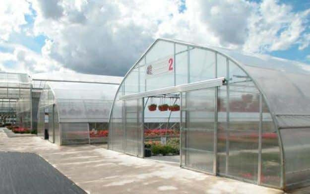 Stand alone greenhouse Multi-span greenhouse