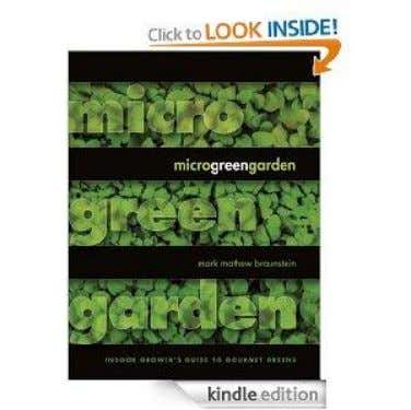 Books on Microgreens from Amazon.com