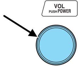 Press the VOL (Volume) control to stop cassette play. CD select To begin CD play: 1.