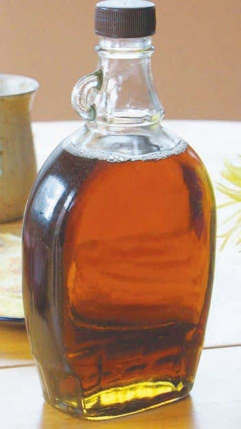 syrup, molasses, concentrated apple juice and fruit jam. Ready-made food It is important, but easy, to