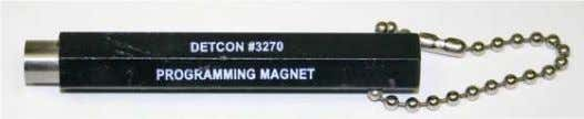 need for area de- classification or the use of hot permits. Figure 9 Magnetic Programming Tool