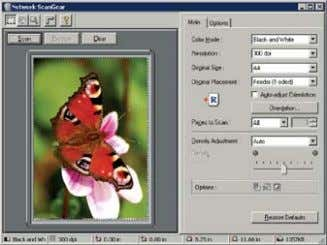 workstation with any Windows TWAIN-compliant application making it possible to create crisp, clear and detailed images.