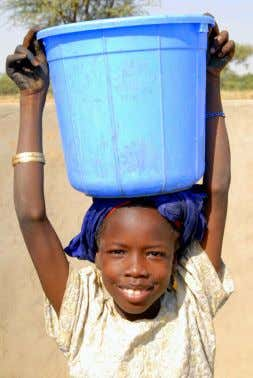 with hope by the power of the Holy Spirit. —Romans 15:13 Clean Water Brings Joy by