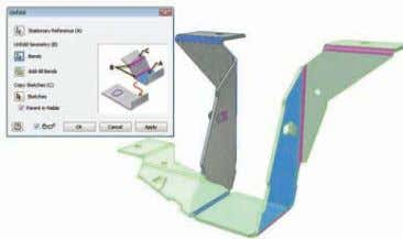 Sheet Metal Design Use the Inventor Digital Prototype to simplify the design of complex sheet metal
