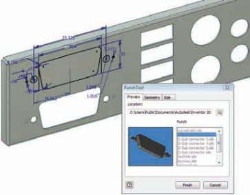 Sheet Metal Design Flat-Pattern Modification Optimize flat patterns to eliminate unnecessary manufacturing costs. Generate flat-pattern models