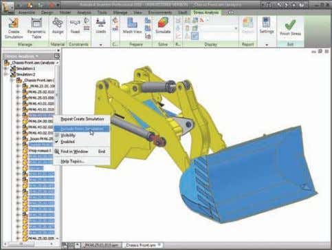 Simulation Autodesk Inventor Professional gives you the tools to record your engineering decisions and share the