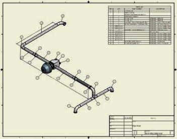Tube and Pipe Design Autodesk Inventor Professional provides rules-based routing tools that select the correct fittings
