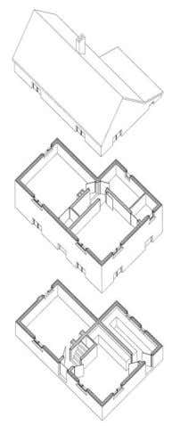 A Guide to Architectural Drawing Conventions: Plans First floor Ground floor Drawings: John Hewitt from Understanding