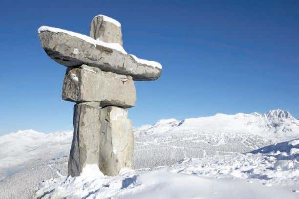 called Ilanaaq, and is based on the traditional Inuit inukshuk (lower). ▲ 48 Chapter 2: How