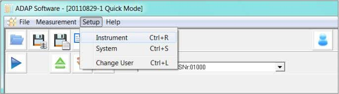 3. Select File>Save The features of ADAP Basic will be presented with an option to simulate