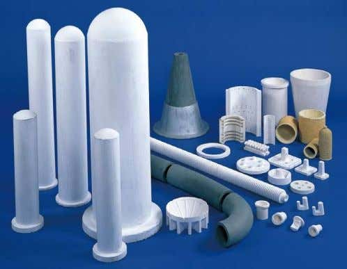press method, ejection method, and other technologies to its refractory products according to the product requirements.