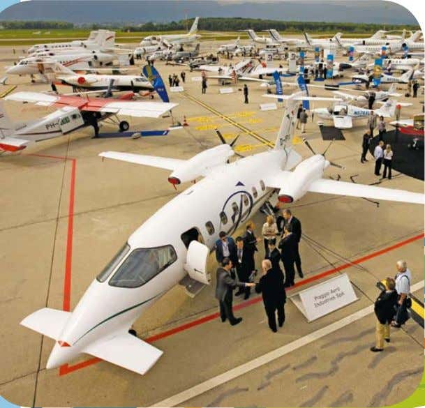 EBACE2010: CELEBRATING THE GLOBAL REACH OF BUSINESS AVIATION Conveniently located at Geneva Palexpo, right on