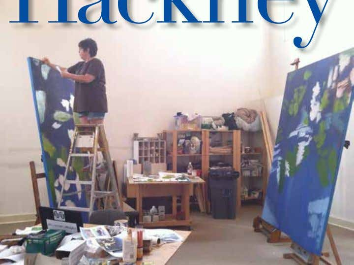 STUDIO VISITS Hackney Jill Q. When did you first realize you were an artist A. It's