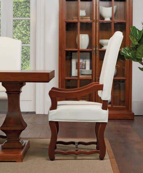 ARBOR & TROY / 28 / DINING Complete your dining set look with our newest collection,