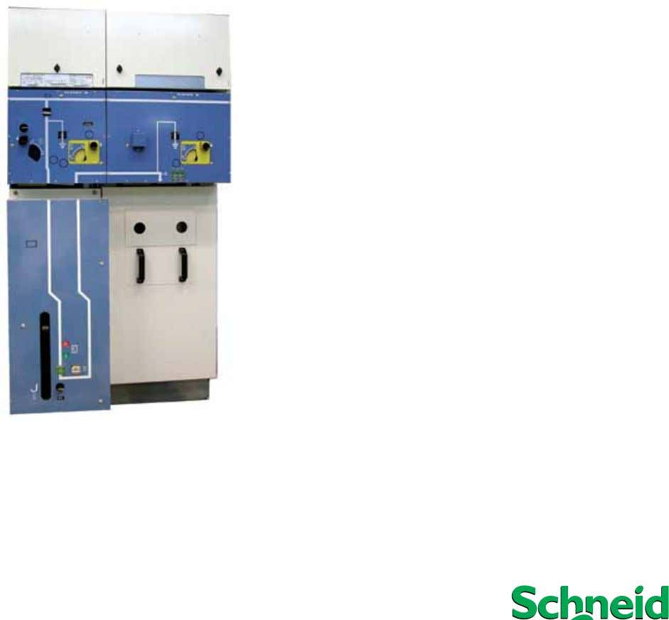 FLUOKIT M24+ PGCv with VEIVACUUM-L circuit breaker Operation Maintenance Instructions www.schneider-electric.com