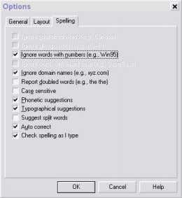 Spell Checker to automatically check for or correct errors. CustomizingYour You can use commands on the