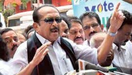 that entail disquali­ fication, regardless of the Defiant stance: MDMK leader Vaiko told the media in