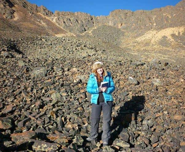 THE AUTHOR Dr Sally Rangecroft studied rock glaciers, water security and climate change in the Bolivian
