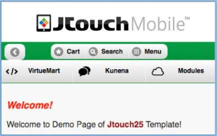 changes. Before 8 Things to Know 8.1 Compatibility I ssues After • JTouch mobile template requires