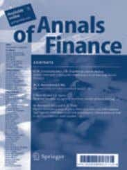 (print version) ISSN 1614-2454 (electronic version) Decisions in Economics and Finance Managing Director: M. Li