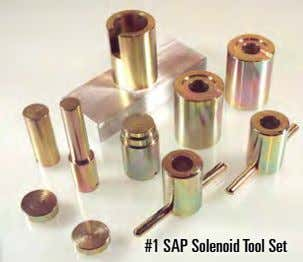 #1 SAP Solenoid Tool Set
