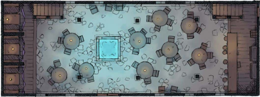 Maps 1st floor of the Fiery Grog Tavern 2nd floor of the Fiery Grog Tavern These
