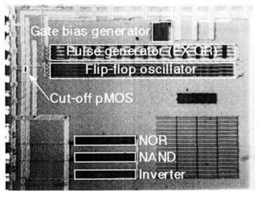 of of the MOSFET a SOI MOSFET together and thus changes 1499 Fig. 3. Microphotograph of
