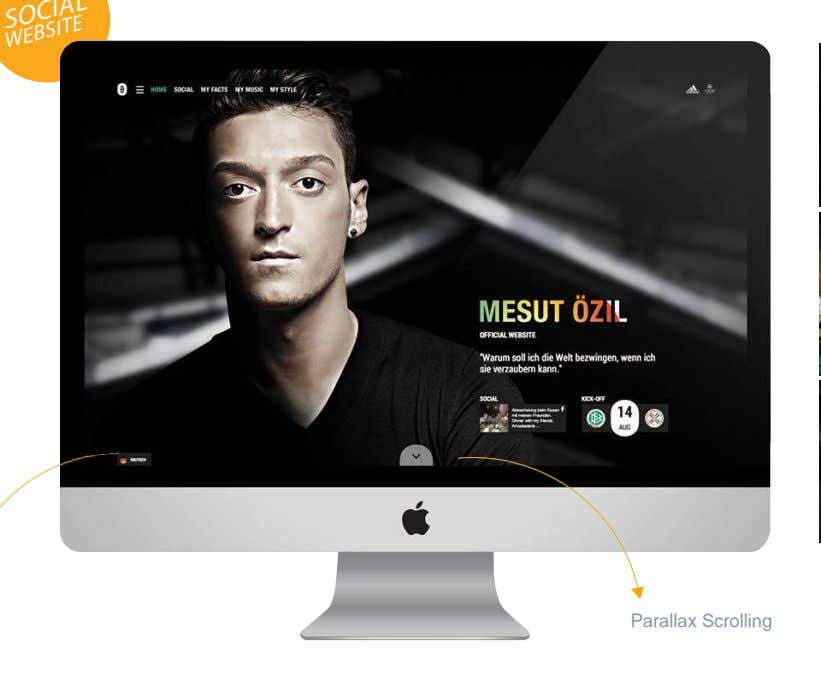WEBSITE Parallax Scrolling