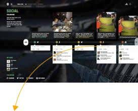 SOCIAL Live-Match Statistics WEBSITE Parallax Scrolling Multiple Social Integration Multilingual www.mesutoezil.com
