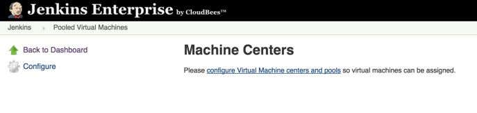 CloudBees Services Figure 7.12. Configuring Pooled Virtual Machines You can then enter the connection details of