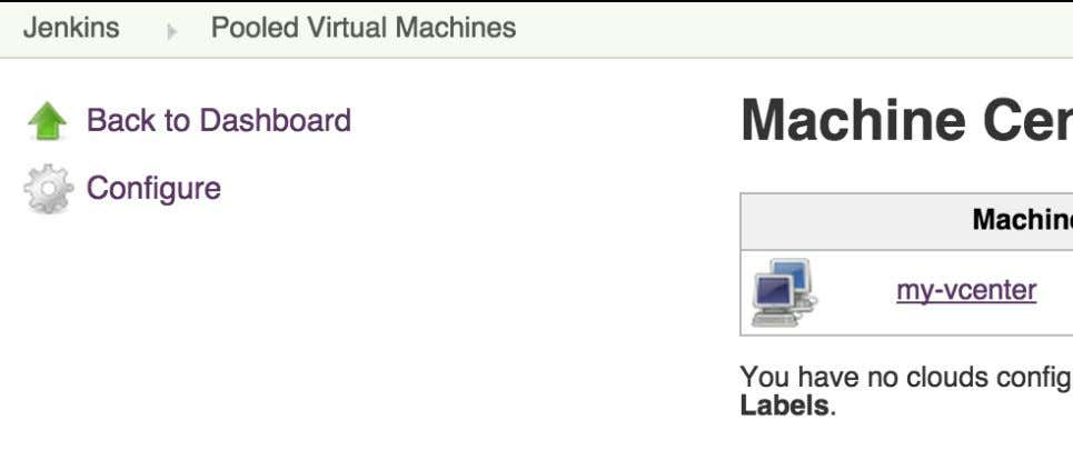 "CloudBees Services Figure 7.24. Managing vSphere machines Then click on the desired ""Machine Pool"" (e.g."