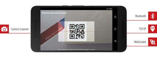 Barcodes and RFID Tags 1.2.3 CCD Scanners CCD barcode scanners constitute of a long row of