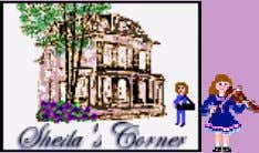 Send Sheila the form! Clear the form ~ Sign My Guestbook ~ Page, clipart © Sheila