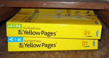 careful of the column order ● Look for covering indexes The Yellow Pages from Wikipedia :