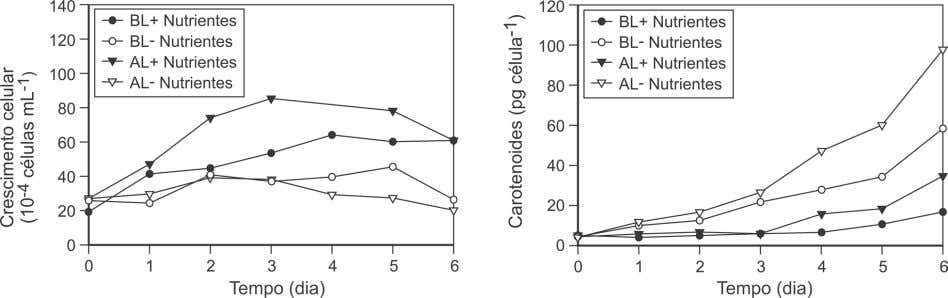 Gráfico 2A Gráfico 2B Baseado em Baumgartner, A. C., et.al ., «Nutrient limitation is the