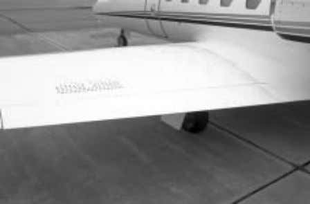 international CITATION BRAVO PILOT TRAINING MANUAL Figure 1-13. Wing Trailing Edge The leading edge of the
