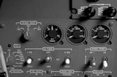 international CITATION BRAVO PILOT TRAINING MANUAL CONTROL Control of the DC power system is maintained with